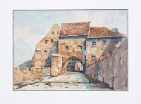 Brama Wodna - jedyna z zachowanych bram średniowiecznego systemu obronnego