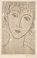Głowa kobieca II