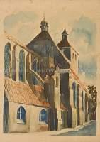 Widok na kościół św. Mikołaja