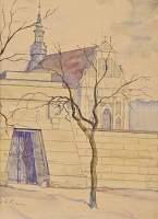 Widok na kościół poreformacki