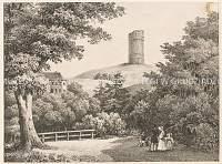 Widok na wieżę zamkową w Grudziądzu